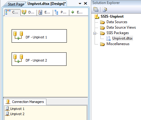 SSIS - Package