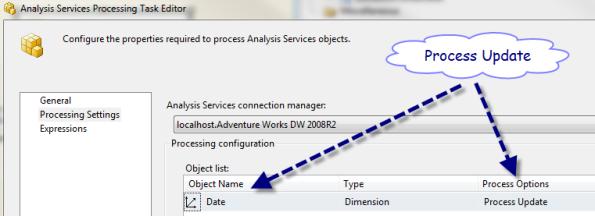 Processing Task Settings