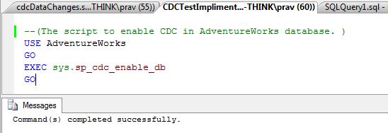 CDC @database