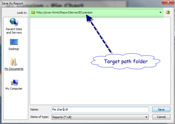 Target path folder @webserver