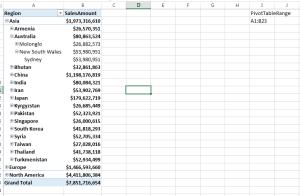 Excel range updates