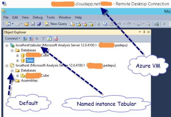 01. Azure VM - OLAP DBs