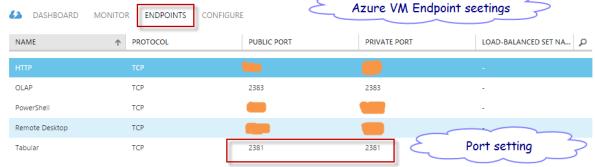 06. Azure VM Endpoints Ports
